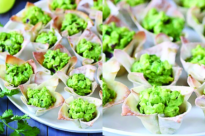 Green appetizers for Carlsbad cook-off