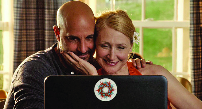 Easy A: The title also describes the performance ratings for Stanley Tucci and Patricia Clarkson.