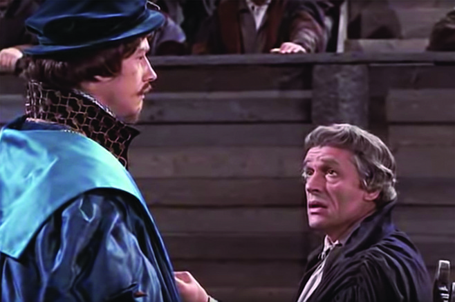 """Sir Thomas """"Gimme"""" More: """"Why Richard, it profits a man nothing to give his soul for the whole world. But for USD?"""""""