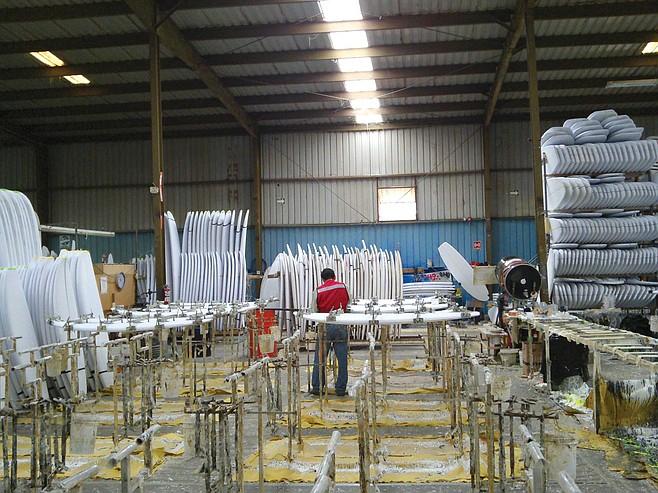 Artic Foam Surfboard Factory