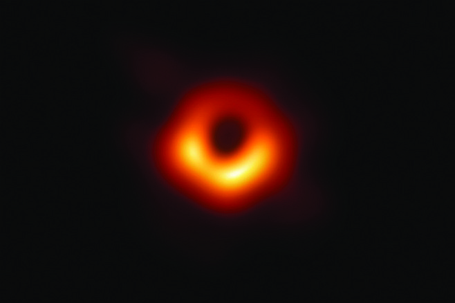 "Dr. Empirical: ""For the longest time, scientists were forced to posit the existence of black holes, even though we didn't have an actual image of one, because the information they had demanded that black holes exist. Just last week, we finally got visual confirmation of a black hole with the above image — though even there, you can see it only because of the bent ring of light circling its orbit. Our conclusion about the soul is kind of like that: something that can be seen only in light of extrinsic factors, the existence of which is demanded by those factors."""