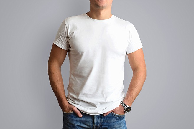 Perfect fit and neutral colors elevate t-shirts to their fullest potential.