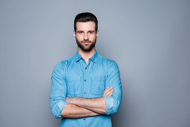 Wear a good casual button-down and put yourself in a different category of guy.
