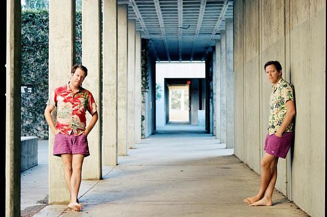 Mattson 2 — identical twins in identical shorts.