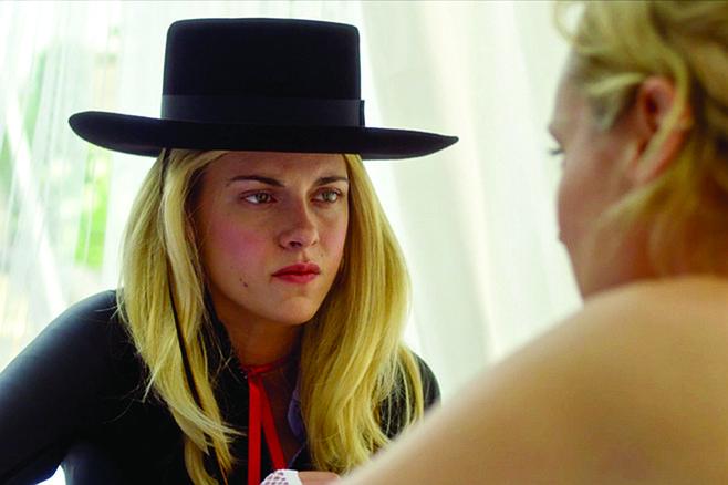 JT LeRoy: That's Kristen Stewart beneath the Zorro fedora and Walgreens wig.