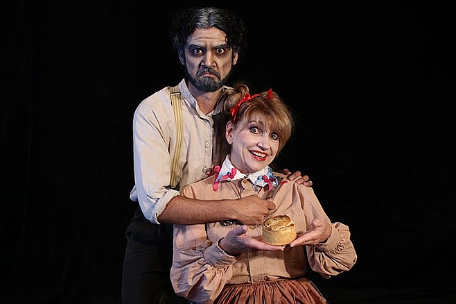 Sweeney Todd and Mrs. Lovett: a meaty story that provides food for thought.
