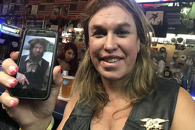 Kristin Beck at Danny's Bar, June, 2019