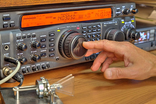 Trade ham radio for violin, French music fete, Blues against hunger