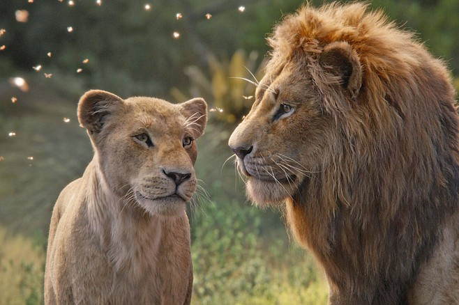 "The Lion King: ""I'm sorry, darling, I just can't feel the love tonight."""