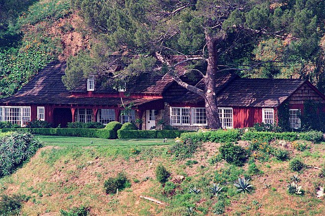 The Benedict Canyon house where Sharon Tate lived and died