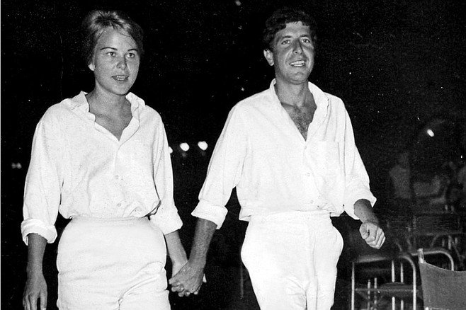 "Marianne and Leonard: Words of Love: Leonard Cohen & Marianne Ihlen are the subjects of this ""no muse is good muse"" celebrity doc."