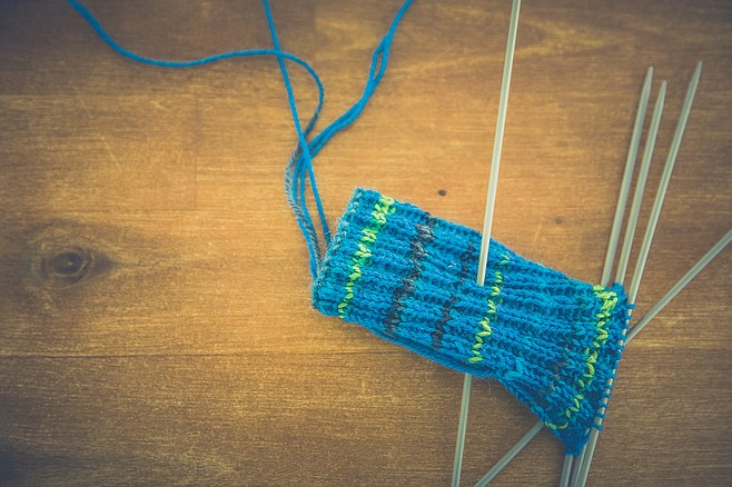 Step one: knit. Step two: profit?