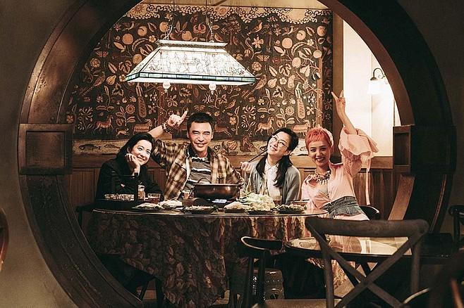 Fagara: serving up a fantasy family dinner.