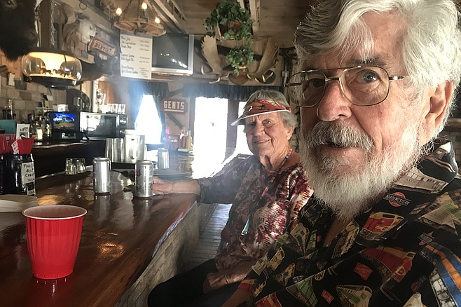 The mountain's old timers Lani and George - Pat Spinetta has saved Mount Laguna