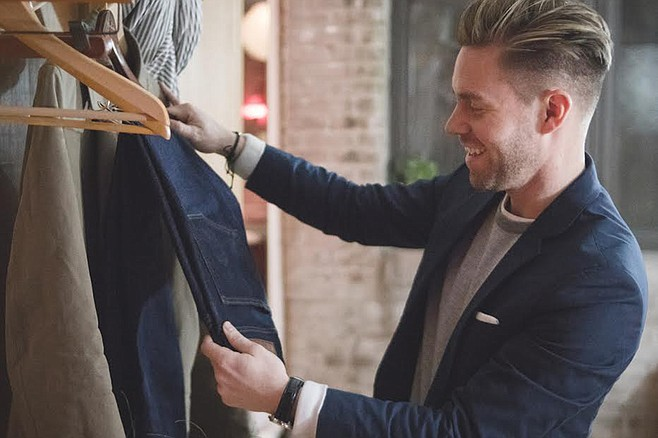 Make a good first impression with a nice suit
