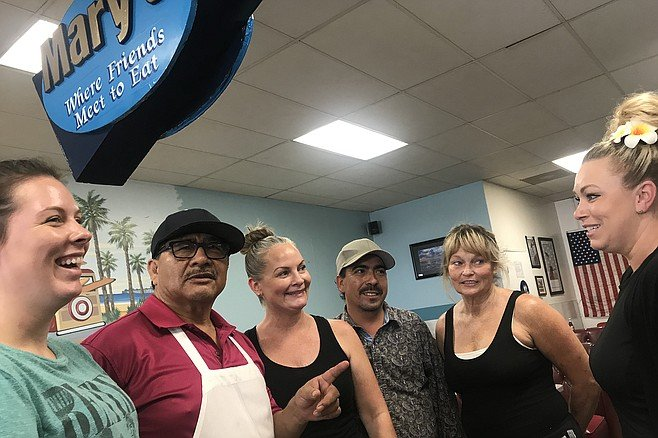 Madi, Jose the owner, Rebecca, Ivan the chef, Lynette, Tory - want Mary's to stay put