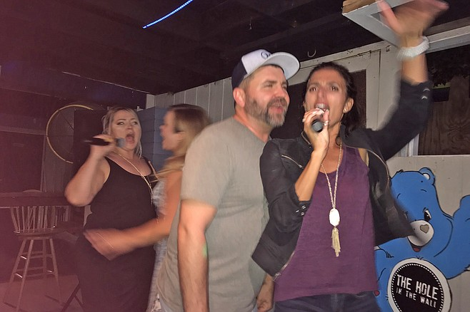 Some pretty good karaoke.