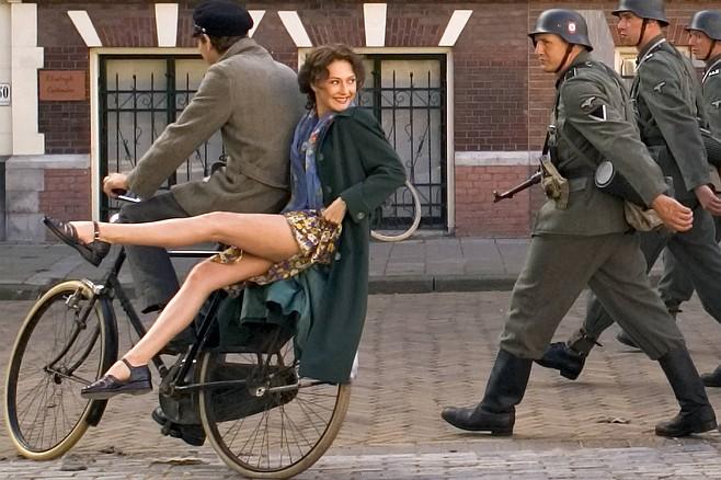 Black Book: Carice Van Houten gets a leg up on the Nazis.