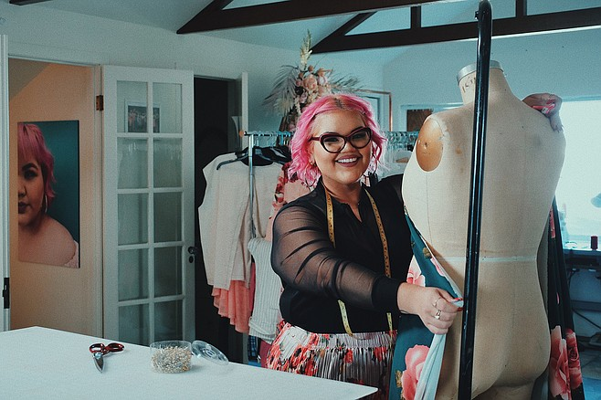 Ashley is offering sewing and self-acceptance classes in Hillcrest