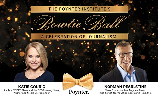 """""""We think we can get to 750,000 to a million subscribers,"""" Pearlstine said during a November 2 appearance at the Poynter Institute's Bowtie Ball"""