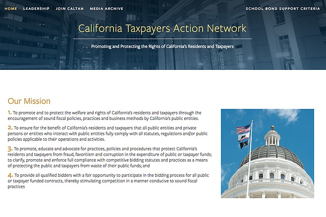 In September of last year, the county education office agreed to pay the California Taxpayers Action Network $62,500 to drop a court case