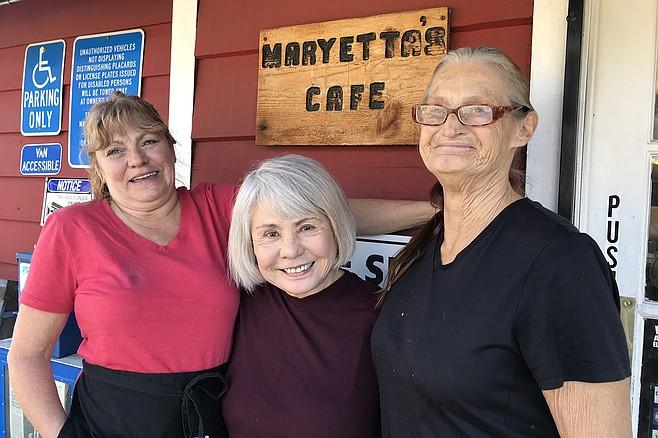 Three Amigas - Sue, owner Sue, and Renee.