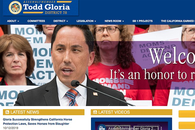 Todd Gloria's 2020 reelection fund covered $349 in staff airline tickets from San Diego to the state Democratic convention in San Francisco.