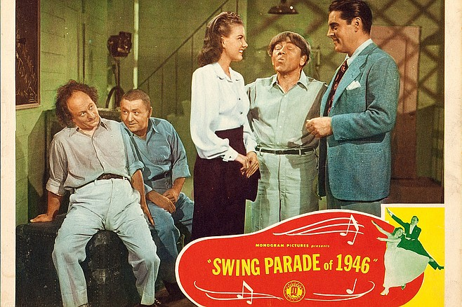 Swing Parade of 1946: Marks' last Stooge.