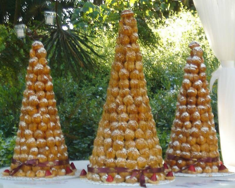 Croquembouche the Cream Puff Dream - Monday, December 17