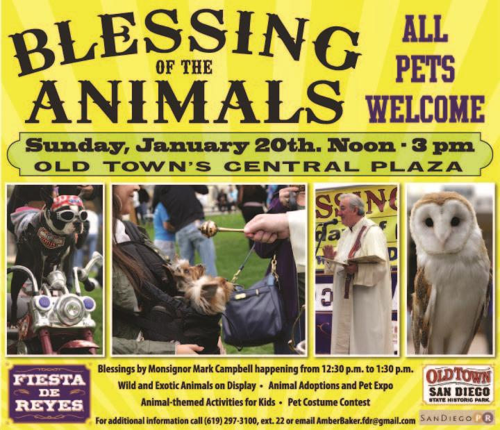 Blessing of the Animals   San Diego Reader