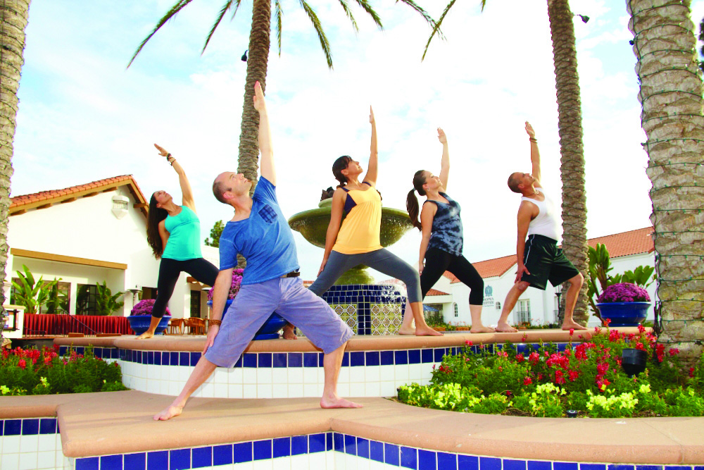 The chopra center yoga retreat thursday january 16 for Yoga retreat san diego