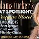 Allison Adams Tucker's Saturday Spotlight