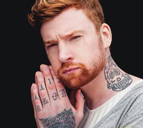 Detroit redhead tattoos the