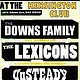 Unsteady, Downs Family, Lexicons