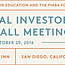 National Investor Town Hall Meeting
