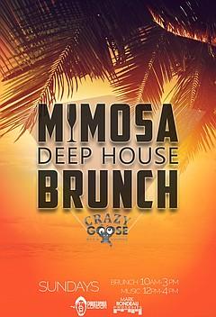 Mimosa deep house brunch sunday june 5 2016 10 a m for Deep house music 2016 datafilehost