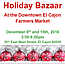 El Cajon Farmers' Market Holiday Bazaar