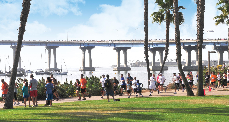 Coronado bay bridge run walk sunday may 15 2016 7 a m for Bay bridge run 2016