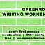 Greenroom Writing Workshop
