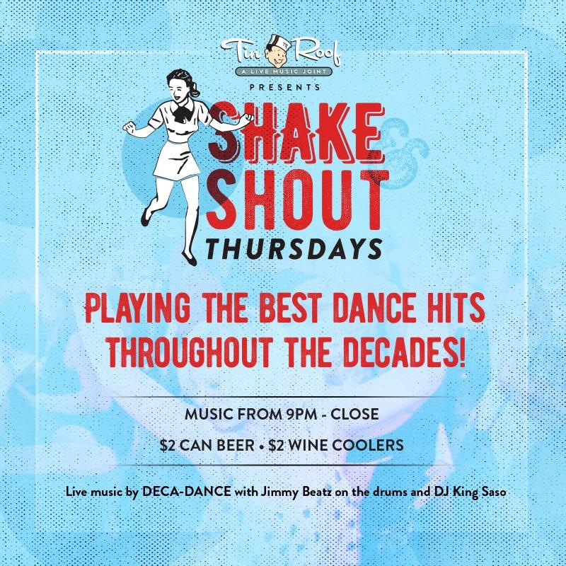 Shake And Shout Thursdays San Diego Reader
