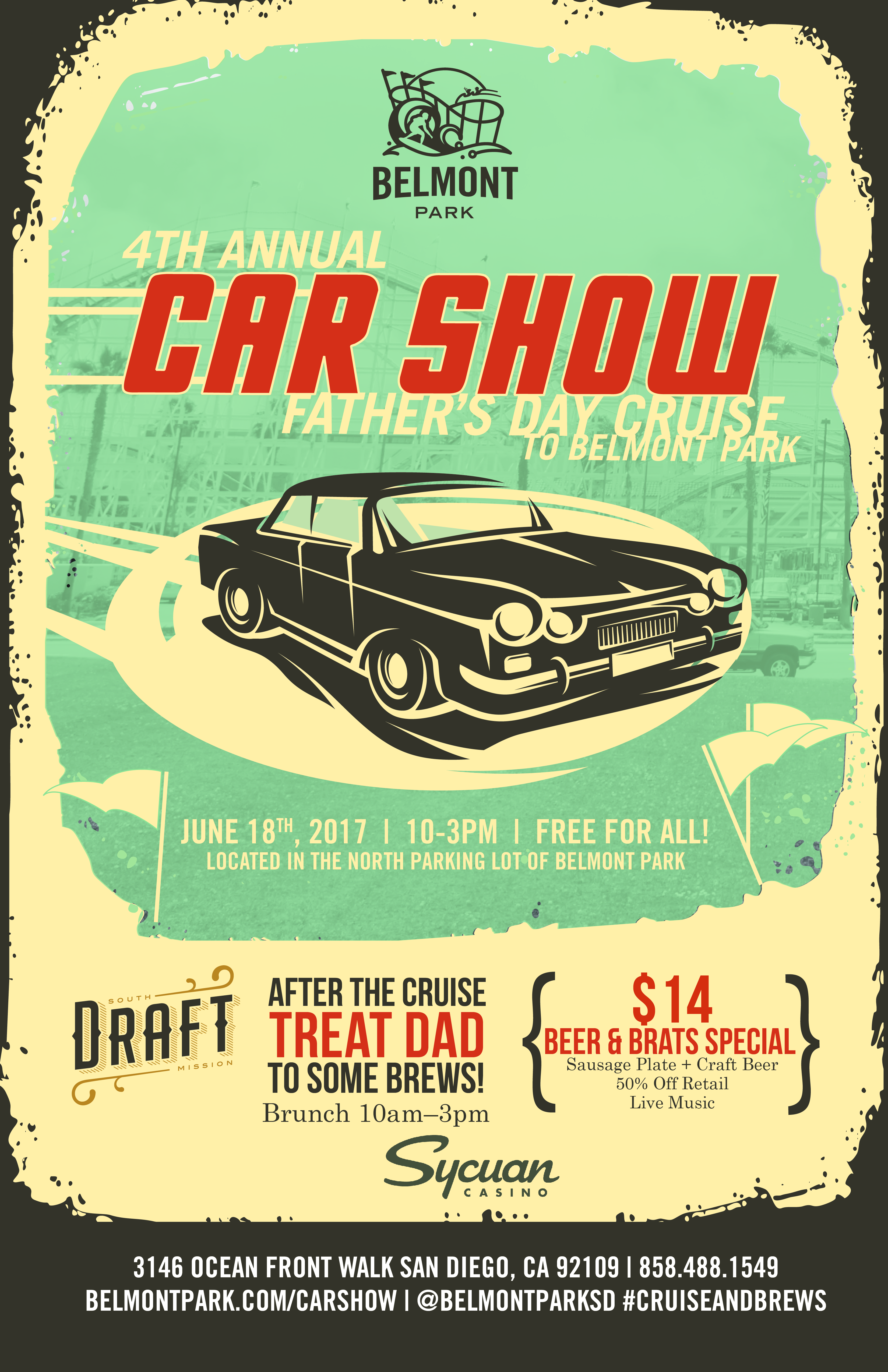 Father S Day Car Show Sunday June 18 2017 10 A M To