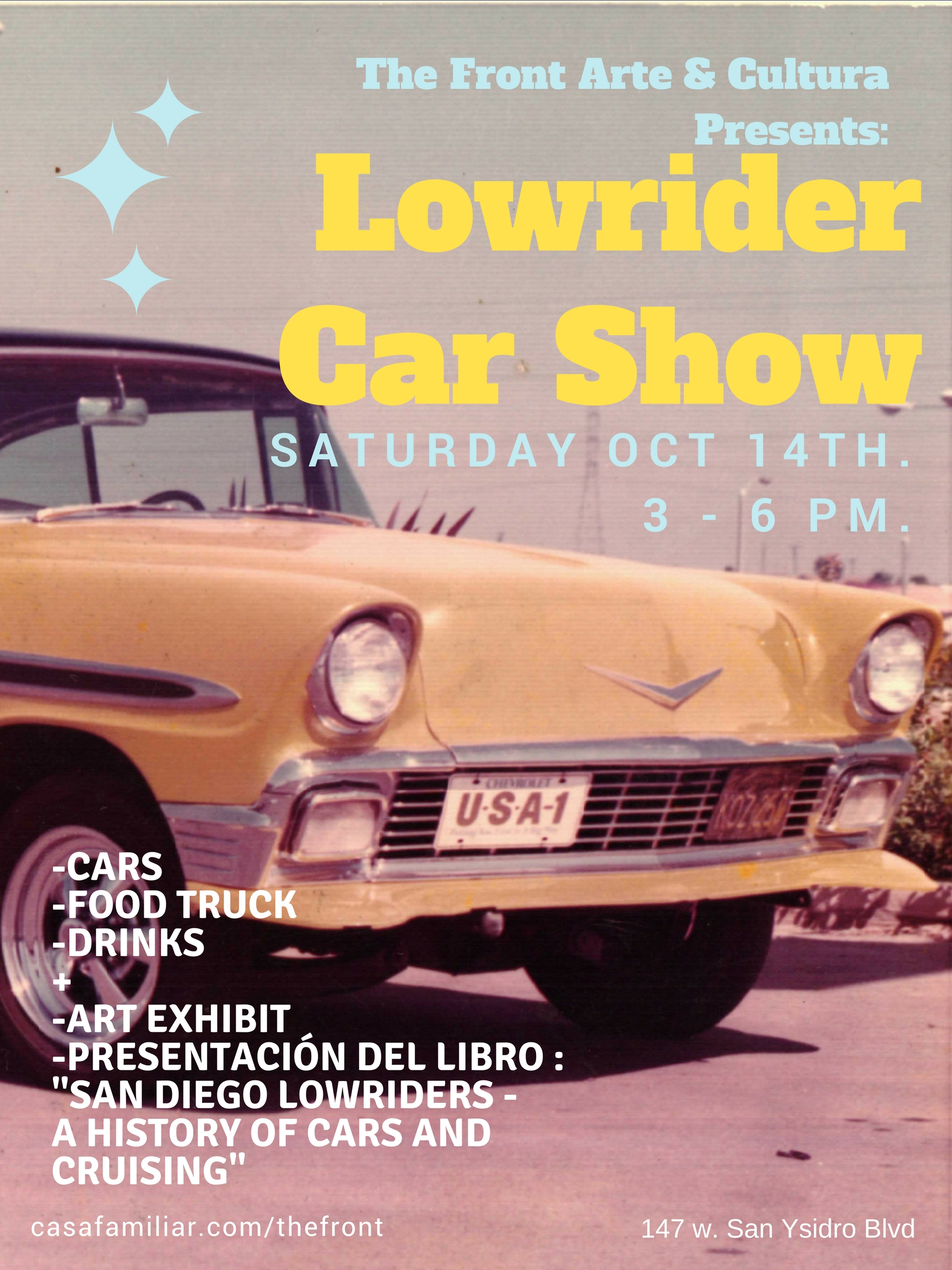 lowrider car show book signing saturday october 14 2017 3 p m to 6 p m san diego reader. Black Bedroom Furniture Sets. Home Design Ideas