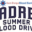 Padres Summer Blood Drive
