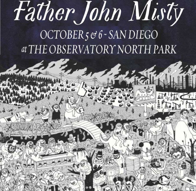 Father John Misty in San Diego , Father John Misty tickets ...
