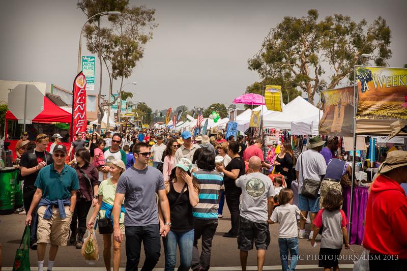 Encinitas Spring Street Fair Sunday April 29 2018 9 A