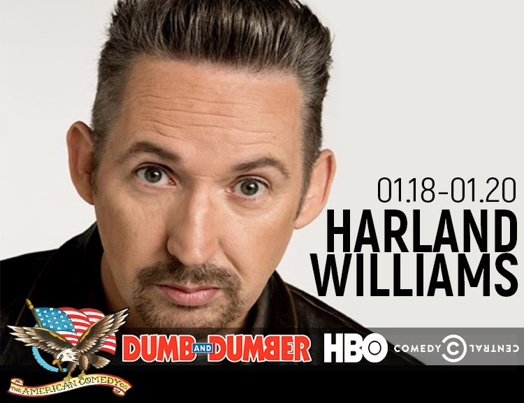 Harland Williams - Thursday, January 18, 2018, 8 p.m. to 9 ...