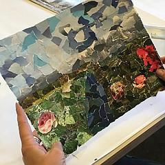 Torn Paper Collage - Tuesday, August 6, 2019, 2 p m  to 5 p m  | San