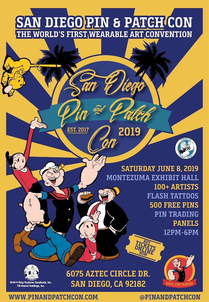 Pin & Patch Con | San Diego Reader