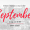 Free Yoga in the City