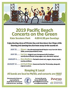 Concerts on the Green: Jet Pack Mojo - Sunday, August 11, 2019, 4